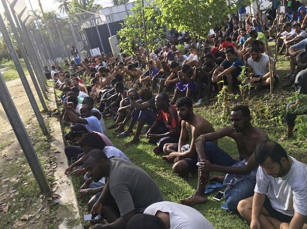Uprchlický tábor na ostrově Manus