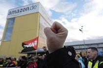 Stávka zaměstnanců Amazonu v Německu