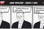 Prezidentské volby - komiks - Zdraví a tenis