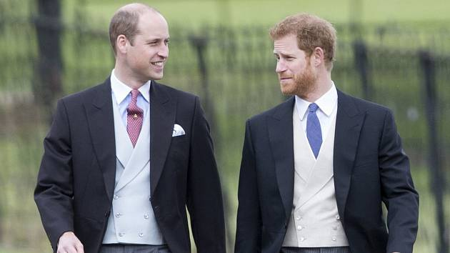 Princové William a Harry