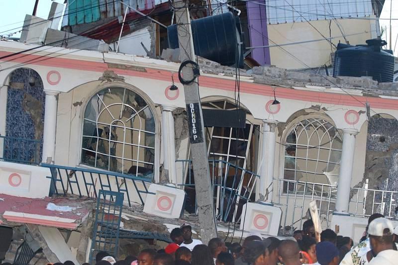 Zemětřesení na Haiti