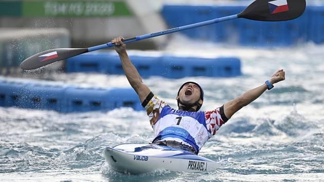 Jiří Prskavec získal v Tokiu zlatou medaili.
