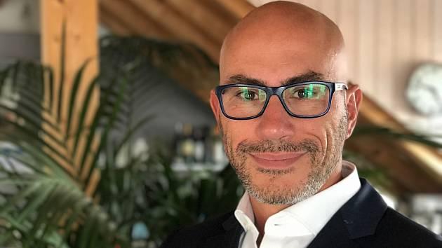 Stefano Santangelo, výkonný ředitel farmaceutické společnosti MSD (Merck Sharp & Dohme)