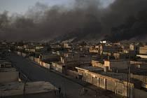 těžké bopje o irácký Mosul