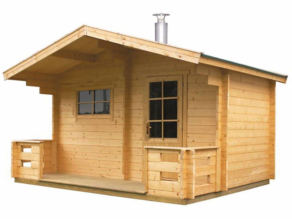 Tradiční venkovní sauna