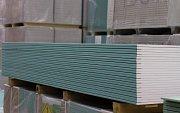 Zelené sádrokartonové desky
