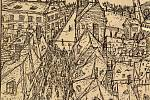 Terezínské ghetto na kresbě Bedřicha Fritty