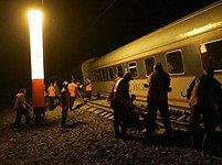Vykolejený Něvskij Express