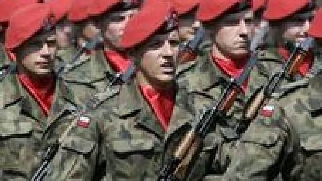 Polsko armáda vojáci