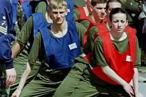 Výcvik britské armády. Ilustrační foto.