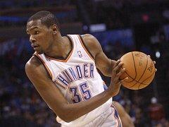 Basketbalista Oklahomy City Kevin Durant.