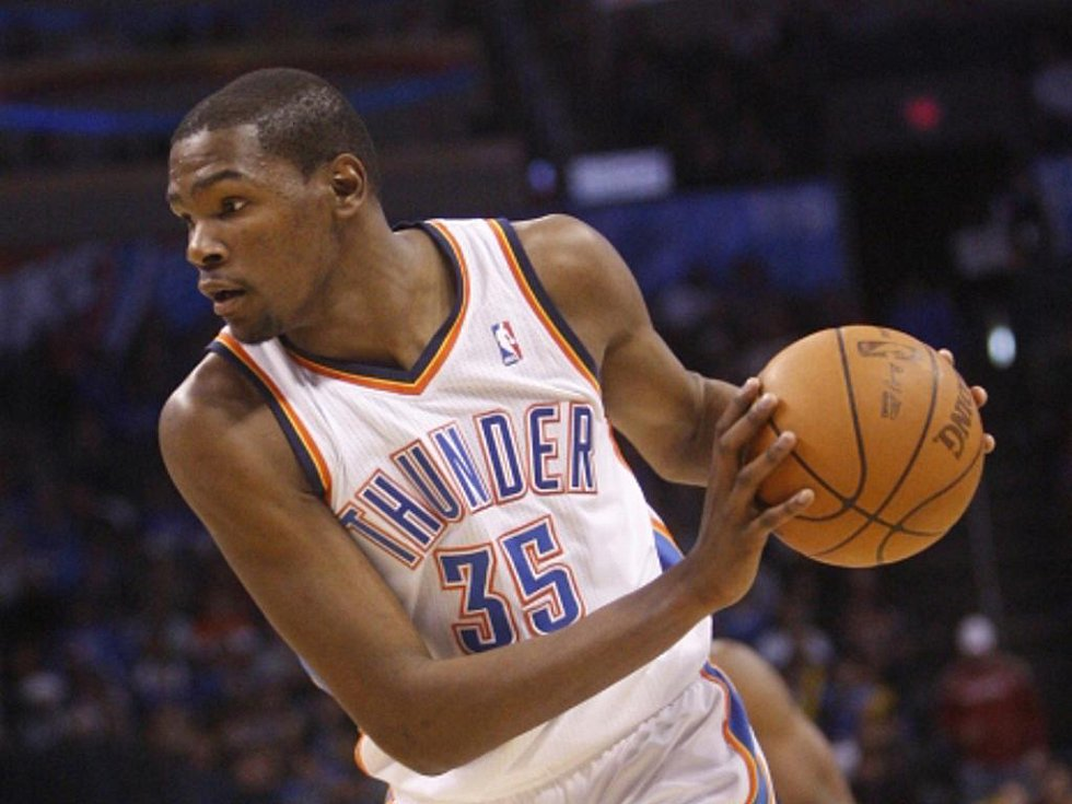 Basketbalista Oklahomy City Kevin Durant.