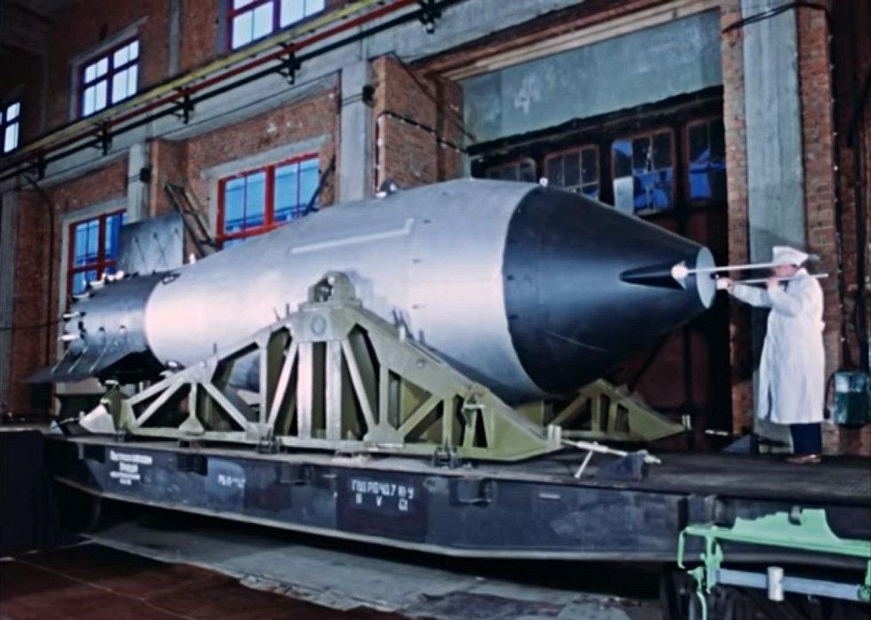 K odpálení připravil padesátimegatunovou bombu