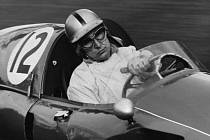 Legenda formule 1 Juan Manuel Fangio.