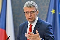 Místopředseda vlády a ministr průmyslu a obchodu Karel Havlíček (za ANO)