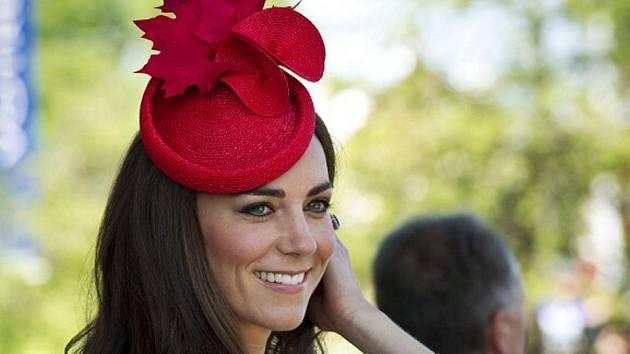 Kate, vévodkyně z Cambridge a manželka britského prince Williama.