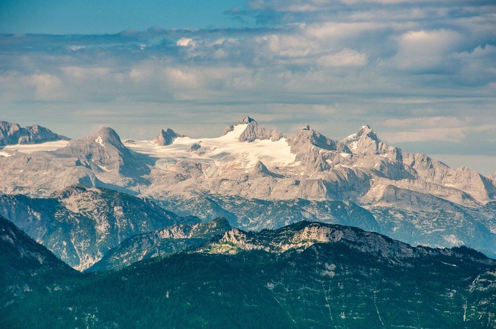 Ledovec na Dachsteinu