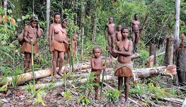 Petr Jahoda na Nové Guineji.