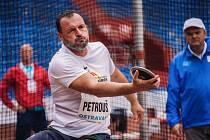 Jaroslav Petrouš ovládl soutěž diskařů.