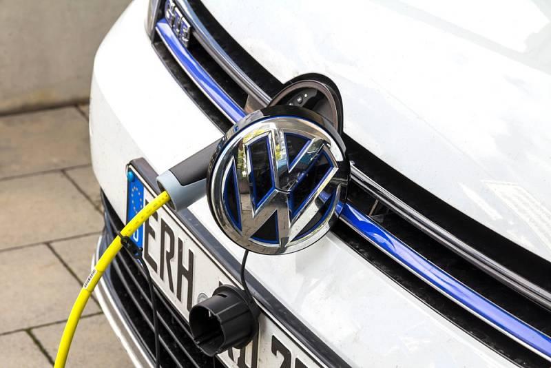 Elektromobil Volkswagen - Ilustrační foto