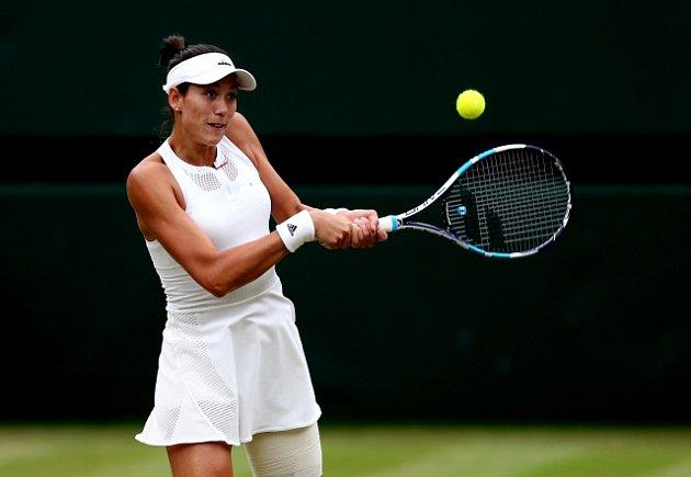 Garbiñe Muguruza , vítězka Wimbledonu 2017