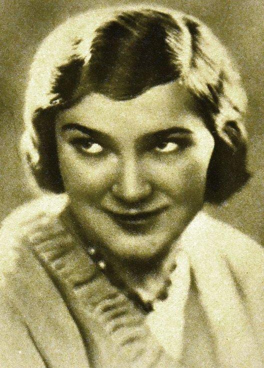 Jiřina Štěpničková před rokem 1931