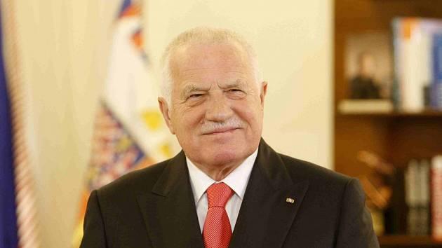 Václav Klaus při svém posledním novoročním projevu