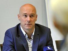 Sportovní manažer hokejistů Plzně Tomáš Vlasák.