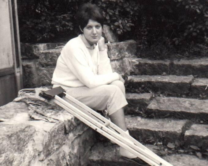 Petra Erbanová o berlích v důsledku střelného poranění - podzim 1968