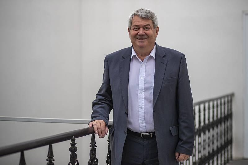 Předseda KSČM Vojtěch Filip