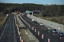 Dálnice D3 u Ševětína - Ředitelství silnic a dálnic (ŘSD) zprovoznilo 18. prosince 2018 jednu část úseku dálnice D3 Ševětín - Borek na Českobudějovicku