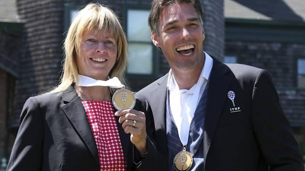 Helena Suková a Michael Stich
