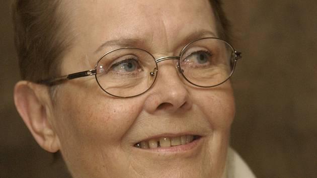 Herečka Jana Drbohlavová (na snímku z 16. dubna 2003).