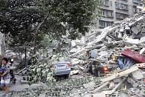 Zemětřesení v Číně. Odborníci tvrdí, že v USA by podobná událost měla ještě ničivější následky