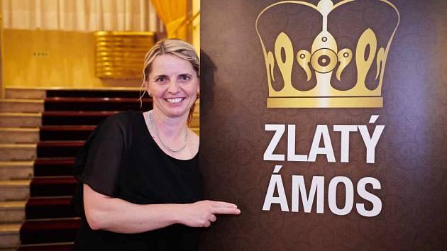 Finále soutěže Zlatý Ámos. Letos toto prestižní ocenění získala Pavlína Kopáčiková ze Základní školy Vacov na Prachaticku.