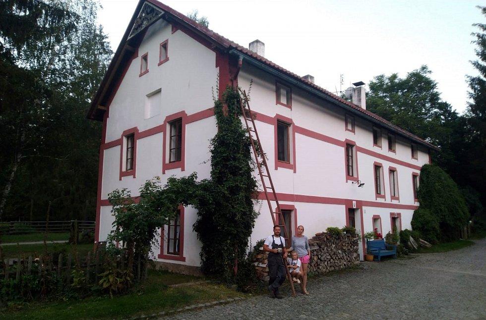 Rodinná farma Kunclův Mlýn.