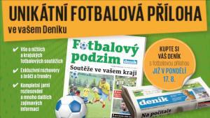 Fotbalový podzim! Unikátní příloha Deníku vychází už v pondělí 17. srpna