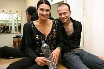 Mahulena Bočanová s Jaroslavem Kunešem v době StarDance v roce 2007