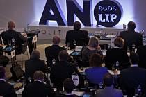 Na pražském Chodově probíhal 28. února III. celostátní sněm hnutní ANO.