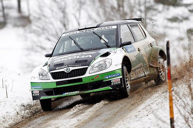 Hänninen na Jänner Rallye.