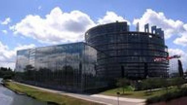 Europarlament ve Štrasburku. Ilustrační foto.