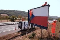 Odstraňování billboardů u českých dálnic
