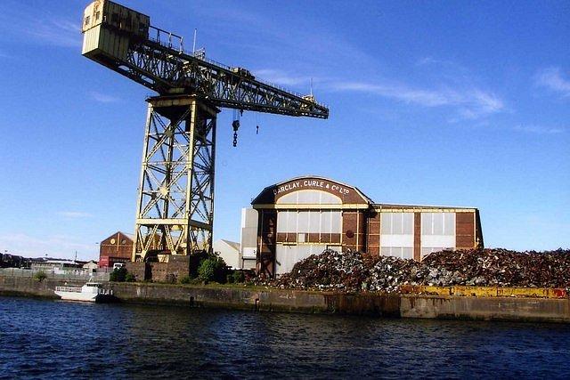Parník byl postaven v loděnicích Barclay Curle & Company v Glasgow