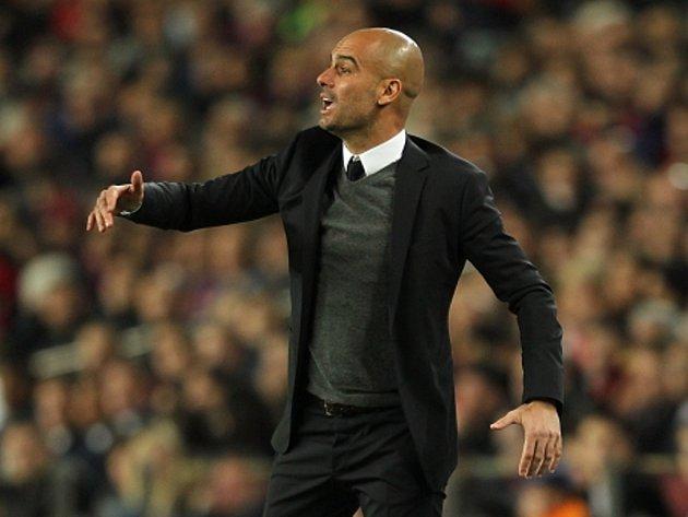 Trenér Barcelony Josep Guardiola.
