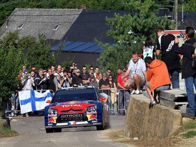 Sébastien Loeb na Německé rallye.