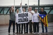 Propuštění katalánští politici
