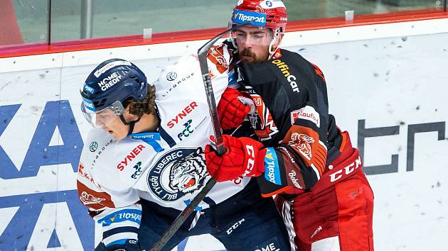 Extraliga, hokej, Mountfield Hradec Králové vs. Liberec
