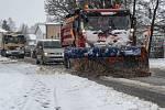 Bavorsko zasypané sněhem
