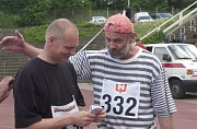 Martin Fendrych a Jan Ruml závod Běh pro Paraple