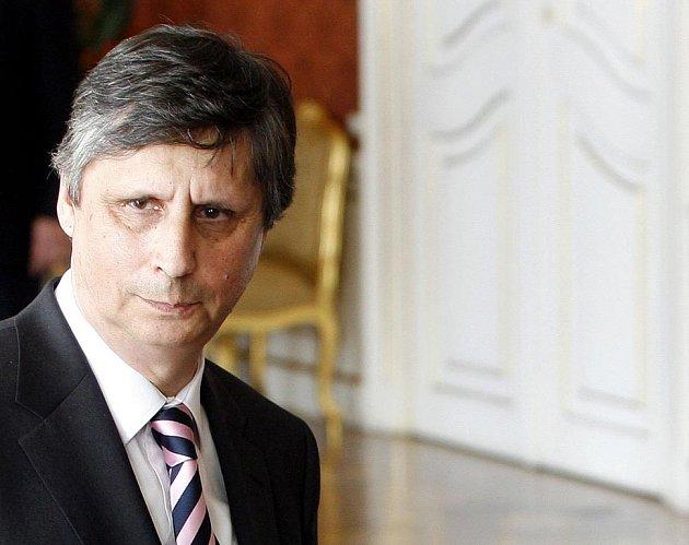 Nový premiér Jan Fischer